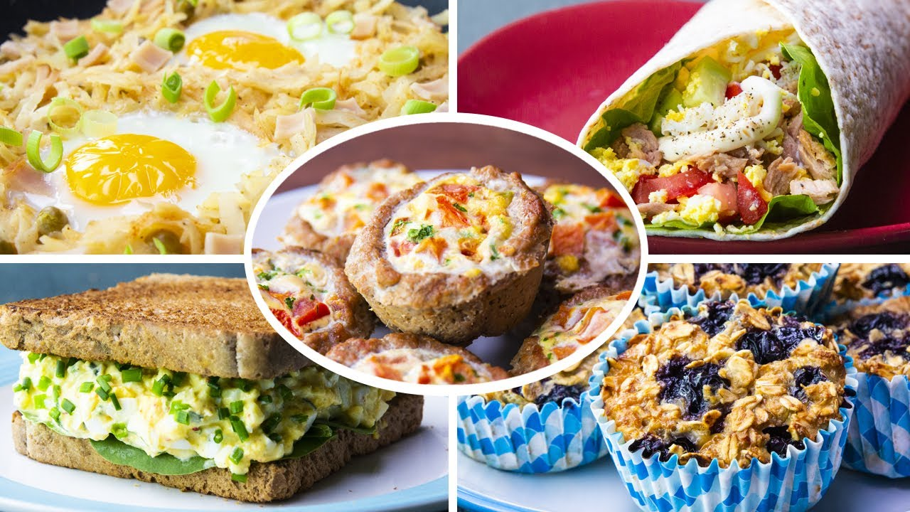 Compilation of Top 8 healthy Egg Recipes For Weight Loss