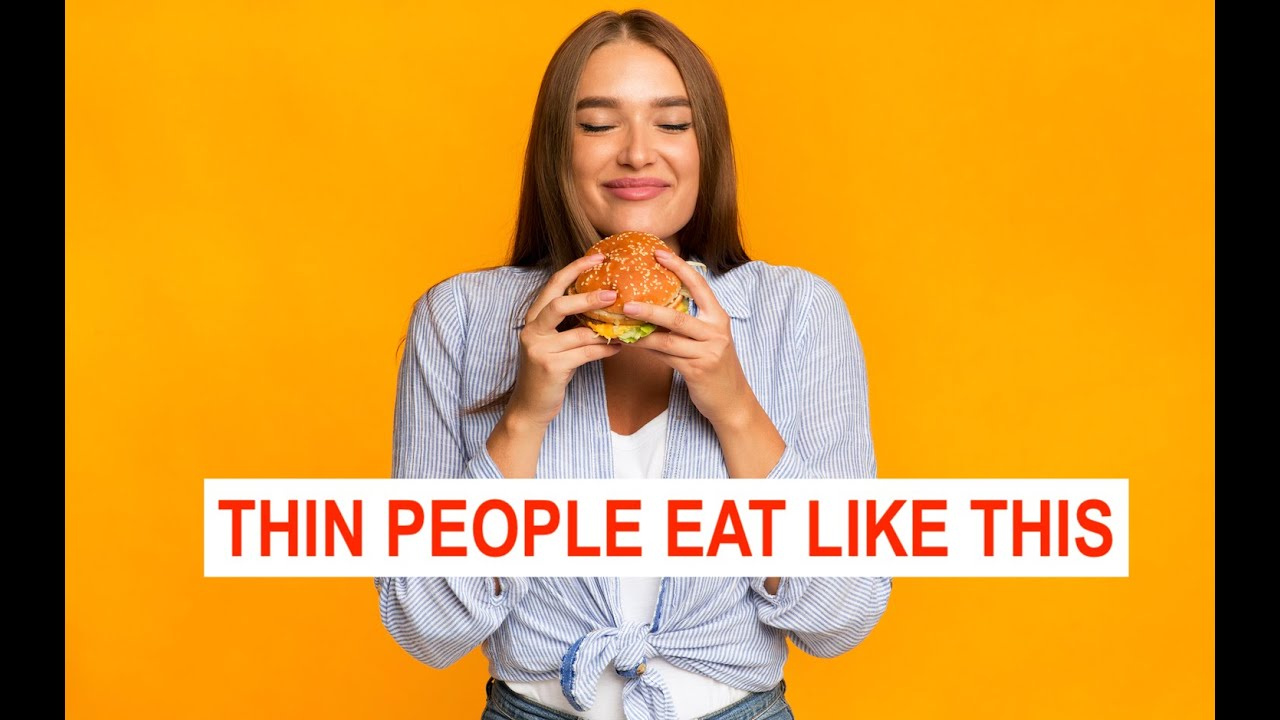 DIETERS DIET, THIN PEOPLE DO THIS INSTEAD