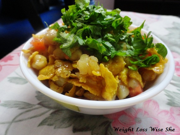 Heathy Diet Chaat Recipe For Weight Loss (1)