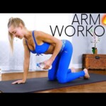 Beginners Arm Workout for Toned Triceps 🔥 At Home, No Equipment
