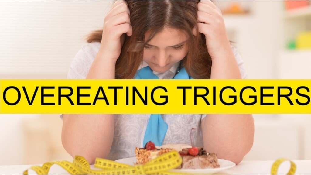 THOUGHTS THAT TRIGGER OVEREATING- STOP 'EM!