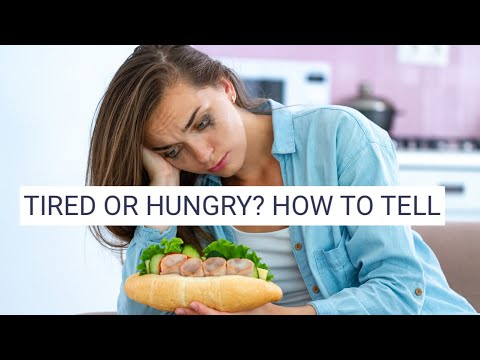 EATING WHEN YOU'RE TIRED, NOT HUNGRY, IS FATTENING.  HERE'S HOW TO STOP